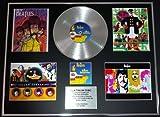 THE BEATLES/GIGANTIC Platin-Schallplatte/RECORD & Foto-Darstellung/Limitierte Edition/COA/YELLOW SUBMARINE