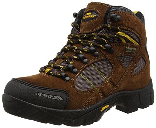 Trespass Ridgeway, Women's High Rise Hiking Shoes, Brown (Brown), 5 UK (38 EU)