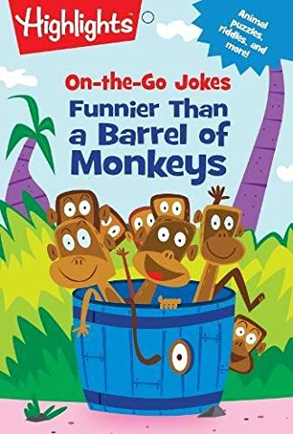 On-The-Go Jokes: Funnier Than a Barrel of Monkeys (Highlights Joke and Puzzle Pads)