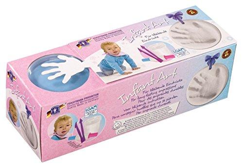 Feuchtmann Spielwaren 62808203 - Infant Art Impression Basic, Modellier-Set mit Zubehör, blau