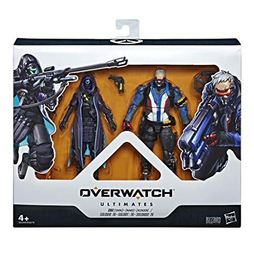 Overwatch- Shrike Ana y Soldier, Multicolor (Hasbro E6495ES0)
