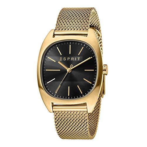 Esprit ES1G038M0085 Infinity Black Gold Mesh Montre pour Homme