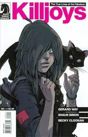 True Lives Of The Fabulous Killjoys #1 (Of 6)(Becky Cloonan Regular Cover, Gerard Way)