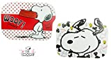 Snoopy 2 x Eßunterlage, Malunterlage, Knetunterlage, Bastelunterlage/Tischunterlagen /Tischset/Tisch Matten/Platzdeckchen / Essunterlage/Platzset / Placemat aus Kunststoff abwaschbar