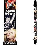 Perris PLPCP8089  Sangle pour Guitare David Bowie en Polyester Motif Faces