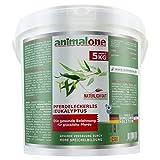 animalone - PFERDELECKERLIS EUKALYPTUS 5 KG Eimer - das gesunde Leckerli für Ponys und Pferde