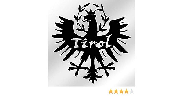 Aufkleber Sticker Tirol Adler Wappen Abzeichen Südtirol 15x15cm A043 Auto