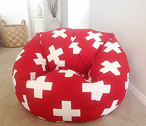 Aart Plus Pattern Bean Bag XXXL With Bean, Provides Ultimate Comfort, Great For Any Room And Office Use