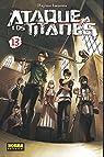 Ataque a los Titanes 13 par Hajime Isayama