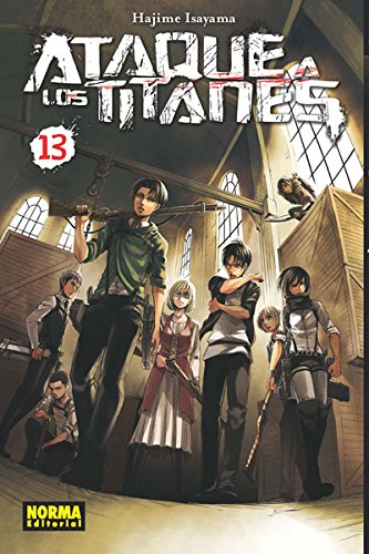 Ataque a los Titanes 13 (Shonen - Ataque A Los Titanes) por Hajime Isayama