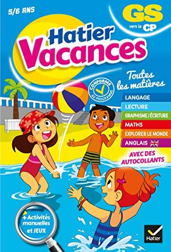 Cahier de vacances de la Grande section vers le CP- 2019