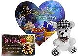 #6: Birthday Gifts For Him - Birthday Greeting Card, Birthday Quotation, Soft Teddy