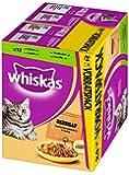 Whiskas Sanfte Küche Katzenfutter Gegrillte Selektion, 48 Beutel (2 x 24 x 85 g)