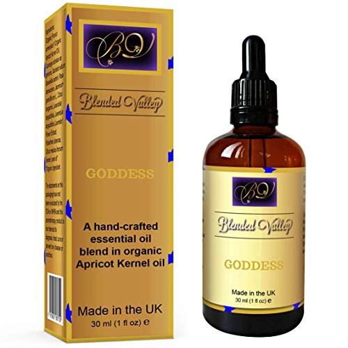 Blended Valley Aromaterapia Aceite DIOSA - Mezcla Afrodisíaca para Hu