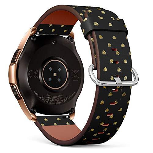 Art-Strap Compatibile con Samsung Galaxy Watch (42mm) - Cinturini di Ricambio con Chiusura a Sgancio Rapido con Perni (Luxury...