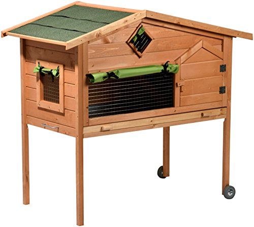 kaninchenstall aus holz f r innen was. Black Bedroom Furniture Sets. Home Design Ideas