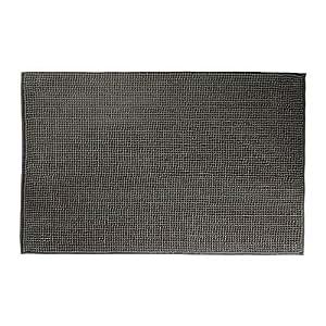 ikea toftbo badematte mikrofaser 40 x 60 cm luxuri s weich grau k che haushalt. Black Bedroom Furniture Sets. Home Design Ideas