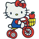 C & D Visionary tricycle-patch Hello Kitty, Acryl, mehrfarbig