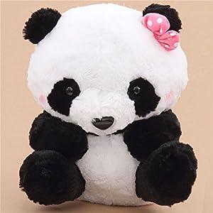 Gran peluche panda blanco negro
