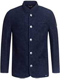 GIESSWEIN Walkjacke für Herren Jonas - Jacke aus 100% Wolle, Herrenjacke, Herbst Winter Jacke für Männer, Trachtenjanker, Sakko aus Wolle, Janker
