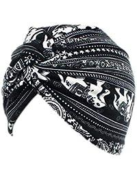 Originaltree Head Wrap Fashion - Gorro de Lana de quimioterapia para Mujer, diseño Floral 5#