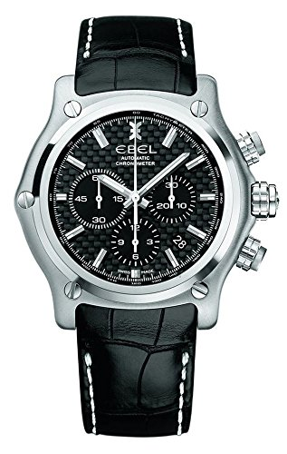 Ebel 1215863 1911 BTR Chronograph Automatic Steel Mens Strap Watch Calendar 9137L70/1533545ws