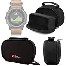 DURAGADGET Funda De Neopreno Para Smartwatch Garmin Fénix 3 HR / Leather / Nylon / Titanium + Gamuza Limpiadora - ¡Ideal Para Viajes!