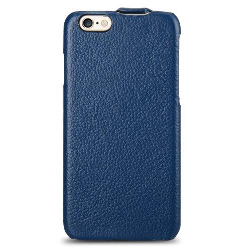 Melkco Jacka type Ledertasche für Apple iPhone 6 schwarz dunkelblau