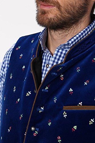 Stockerpoint - Herren Trachten Weste in verschiedenen Farbtönen, Calzado, Größe:64, Farbe:Royale - 5