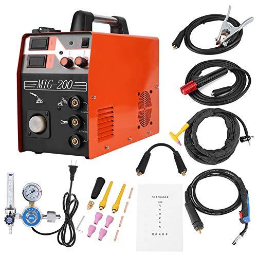 Schweißgerät MIG/TIG/ARC 3-in-1 220V Digitalanzeige Komplettes Zubehörset Welding Schweißinverter Schweißmaschine