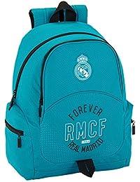 Real Madrid 611857662 2018 Mochila tipo casual, 43 cm, 1 litro, Azul