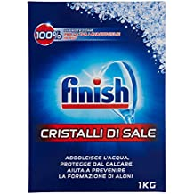 Finish Cristalli di Sale Lavastoviglie, 5 x 1 kg