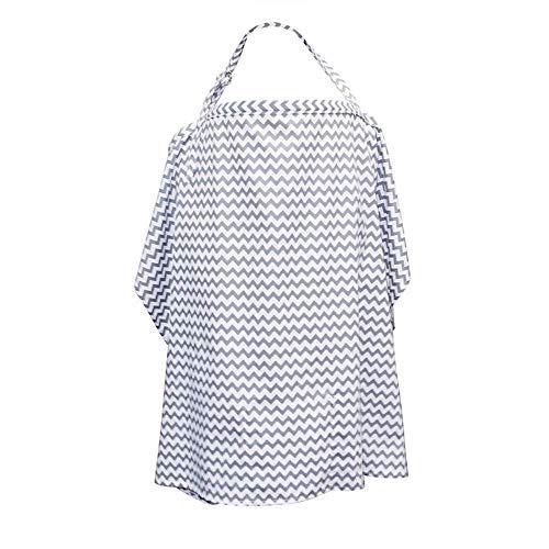 DORSION Couvertures d'allaitement respirant Châle Nursing Cover
