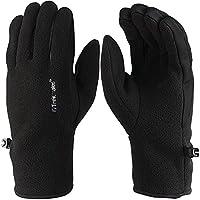 Trekmates Ullscarf M Handschuh Fingerhandschuh Damen Herren Fleece Lederbesatz Handschuhe Damen