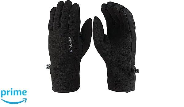Bekleidung Trekmates Froswick M Damen Herren Micro Fleece Handschuh Unisex Fingerhandschuh