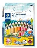 Staedtler 144 10NC36 Noris Club - Lápices de colores acuarelables. Paquete de 36...