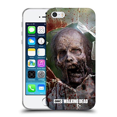 Officiel AMC The Walking Dead Mâchoire Marcheurs Étui Coque en Gel molle pour Apple iPhone 5 / 5s / SE, Coques iphone