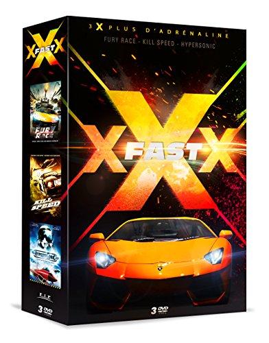 Preisvergleich Produktbild Coffret XXX fast 3 films : fury race ; kill speed ; hypersonic [FR Import]