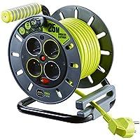 Enrouleur électrique 4 prises 25 mètres NF - cble H05VV-F 3G1.5