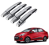 #5: Hi Art Chrome Car Door Handle Cover For Hyundai Xcent - Set Of 4
