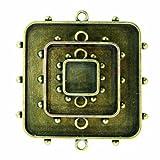 Spellbinders Media Mixage Bezel-Squares 1, Bronze
