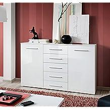 Muebles Bonitos- Aparador Abat en color blanco