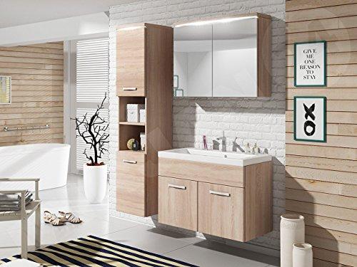 Badmobel Set Paso Mit Waschbecken Und Siphon Modernes Badezimmer