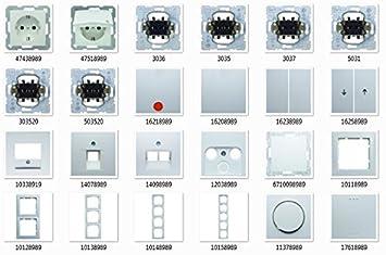 Innovativ Berker polarwei glnzend S.1, Schalter & Steckdosen - Set Auswahl  BJ34