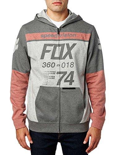 Fox Fleece Zip-Hoody Draftr Schwarz Schwarz