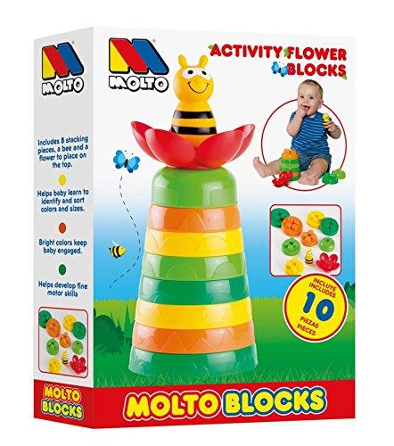 Molto Blocks - Flor de actividades (MOLTO 17475)