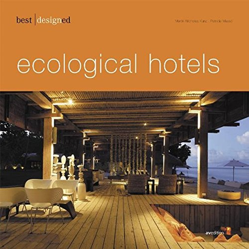 best designed ecological hotels Buch-Cover