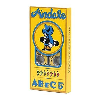 Naked 8 Kugellager: ABEC5 Andale!