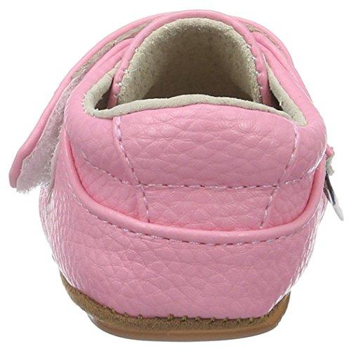 Rose & Chocolat Rcm 1048, Chaussures Marche Bébé Fille Pink (Sweet Bambi Pink)