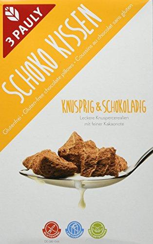 3 Pauly Knuspersnack Schokokissen - glutenfrei, 5er Pack (5 x 200 g)